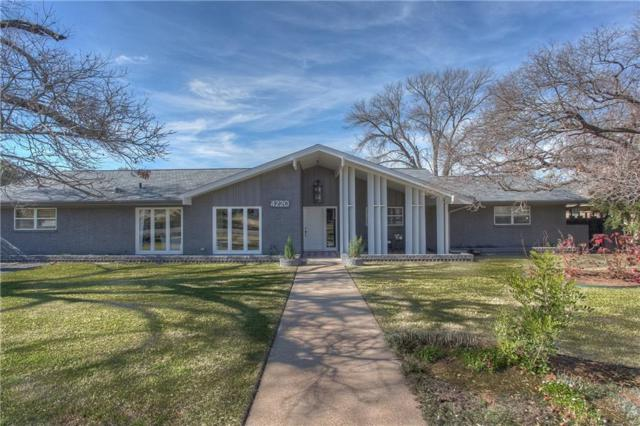 4220 Hildring Drive W, Fort Worth, TX 76109 (MLS #13998431) :: The Mitchell Group