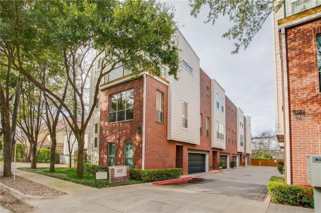 4327 Buena Vista Street #2, Dallas, TX 75205 (MLS #13999105) :: The Heyl Group at Keller Williams