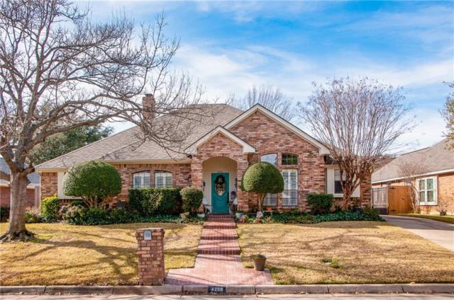4206 Oak Springs Drive, Arlington, TX 76016 (MLS #13999140) :: The Sarah Padgett Team