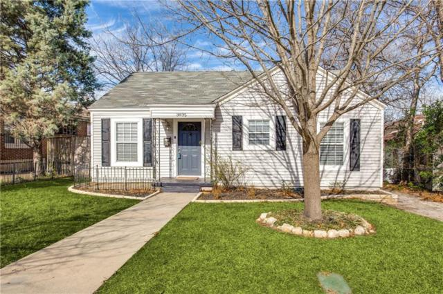 3832 Linden Avenue, Fort Worth, TX 76107 (MLS #13999598) :: The Mitchell Group