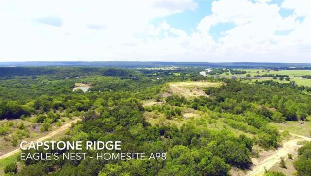 TBDA10 Capstone Ridge Drive, Santo, TX 76472 (MLS #13999662) :: RE/MAX Town & Country