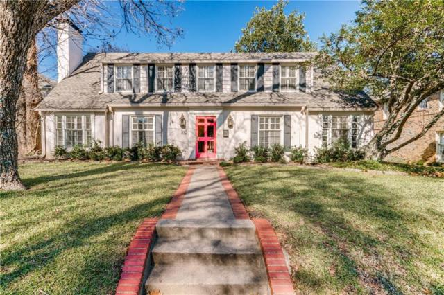 4512 Lorraine Avenue, Highland Park, TX 75205 (MLS #13999691) :: The Real Estate Station