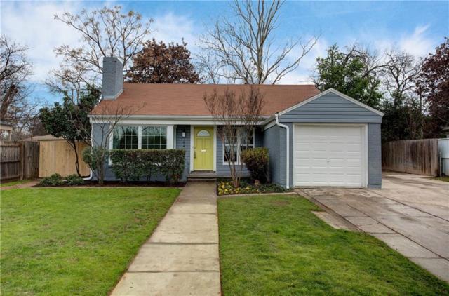 6449 Malvey Avenue, Fort Worth, TX 76116 (MLS #14000239) :: Frankie Arthur Real Estate