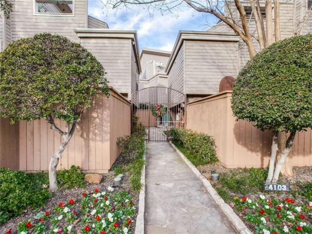 4103 Avondale Avenue #1, Dallas, TX 75219 (MLS #14001448) :: The Heyl Group at Keller Williams