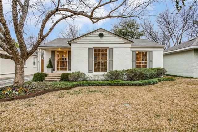 5723 W Hanover Avenue, Dallas, TX 75209 (MLS #14001455) :: Robbins Real Estate Group