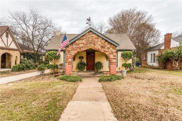 1227 Cascade Avenue, Dallas, TX 75224 (MLS #14001507) :: Kimberly Davis & Associates