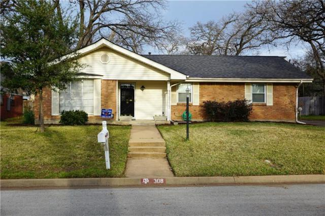 308 Cooper Drive, Hurst, TX 76053 (MLS #14001597) :: The Holman Group