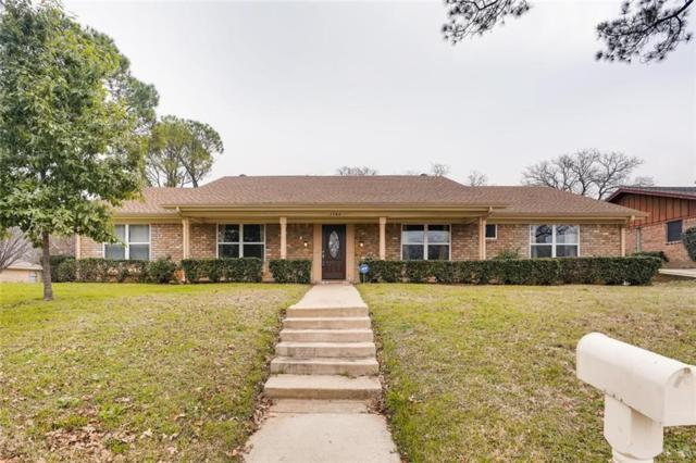 1764 Westridge Drive, Hurst, TX 76054 (MLS #14001678) :: The Holman Group