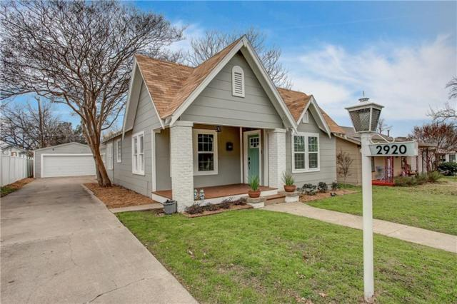 2920 Ryan Avenue, Fort Worth, TX 76110 (MLS #14001708) :: Kimberly Davis & Associates