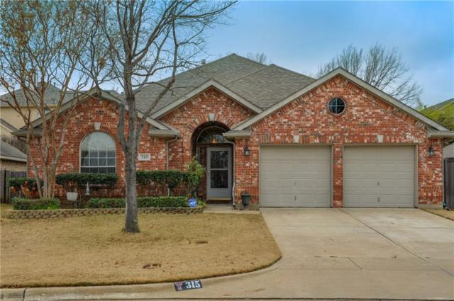 315 Hill Crest Drive, Hurst, TX 76053 (MLS #14001823) :: The Holman Group