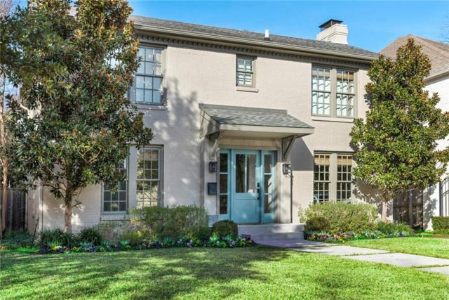 4440 Potomac Avenue, University Park, TX 75205 (MLS #14001859) :: Robbins Real Estate Group