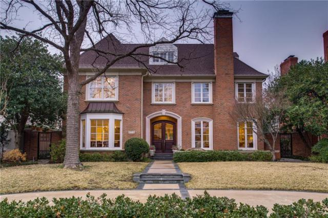 3612 Greenbrier Drive, University Park, TX 75225 (MLS #14002127) :: Robbins Real Estate Group