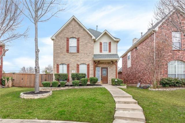 546 Archer Drive, Coppell, TX 75019 (MLS #14002540) :: The Heyl Group at Keller Williams