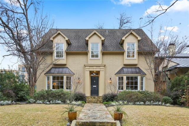 4806 Abbott Avenue, Highland Park, TX 75205 (MLS #14002786) :: Frankie Arthur Real Estate