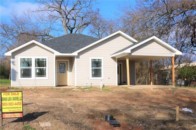 821 E 5th Street, Bonham, TX 75418 (MLS #14002863) :: Baldree Home Team