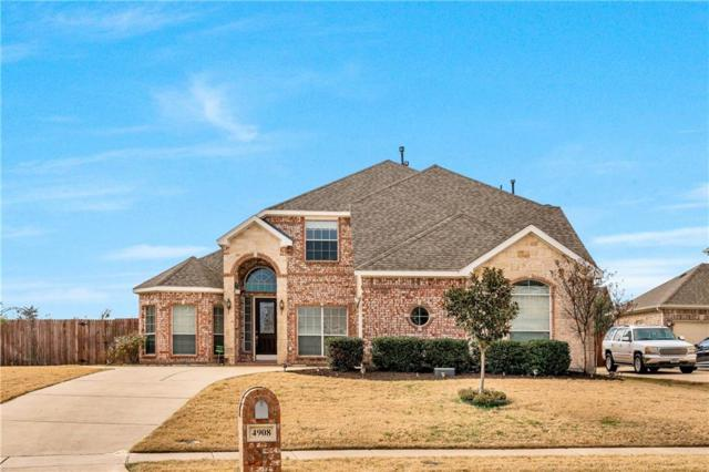 4908 Copper Cove Circle, Mansfield, TX 76063 (MLS #14003228) :: The Sarah Padgett Team