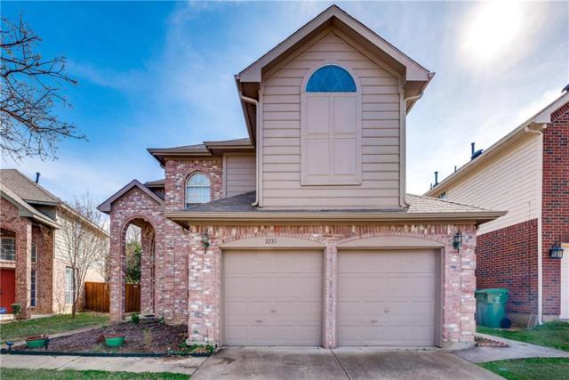 2235 Ellis Drive, Flower Mound, TX 75028 (MLS #14003428) :: Real Estate By Design