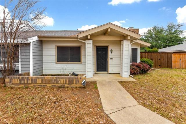 537 Harvest Hill Street, Lewisville, TX 75067 (MLS #14003450) :: Real Estate By Design