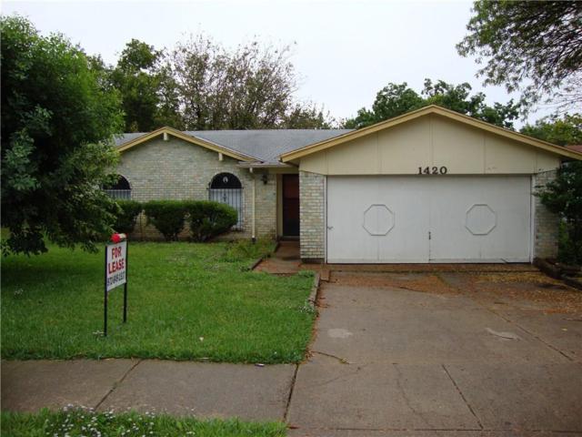 1420 Roanoke Street, Arlington, TX 76014 (MLS #14003812) :: The Mitchell Group