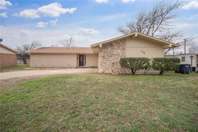 1308 Stafford Drive, Fort Worth, TX 76134 (MLS #14003863) :: Team Tiller