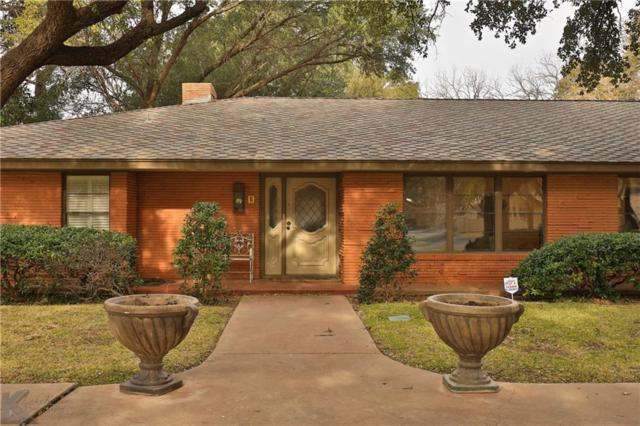 1810 River Oaks Road, Abilene, TX 79605 (MLS #14004228) :: RE/MAX Landmark