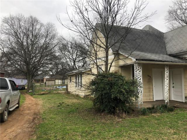 217 Monroe Street, Cleburne, TX 76033 (MLS #14004596) :: The Heyl Group at Keller Williams