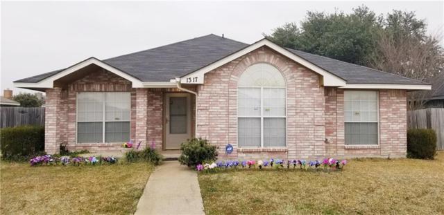 1317 Rosewood Lane, Lancaster, TX 75146 (MLS #14004916) :: Baldree Home Team