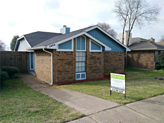 1400 Hackamore Street, Mesquite, TX 75149 (MLS #14005221) :: The Paula Jones Team | RE/MAX of Abilene