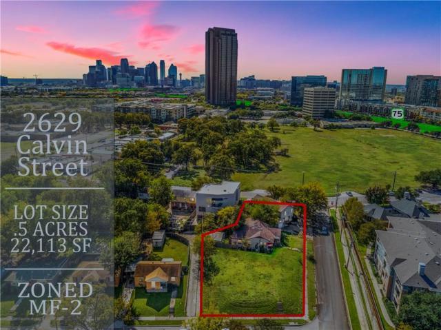 2629 Calvin Street, Dallas, TX 75204 (MLS #14005449) :: Real Estate By Design