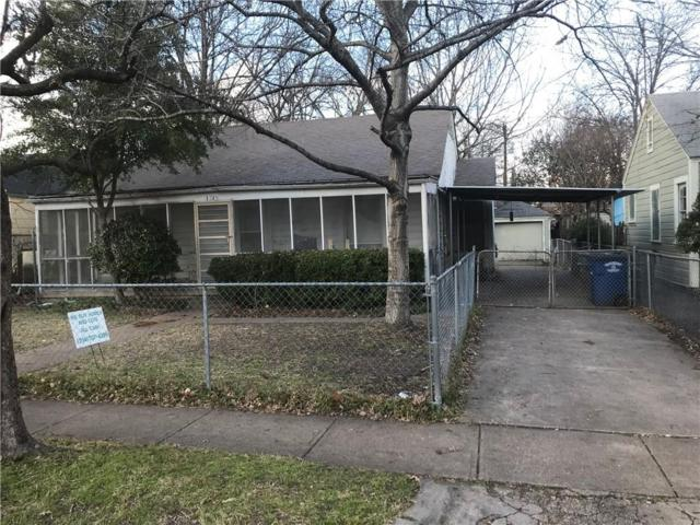 1319 Wilbur Street, Dallas, TX 75224 (MLS #14006260) :: Kimberly Davis & Associates