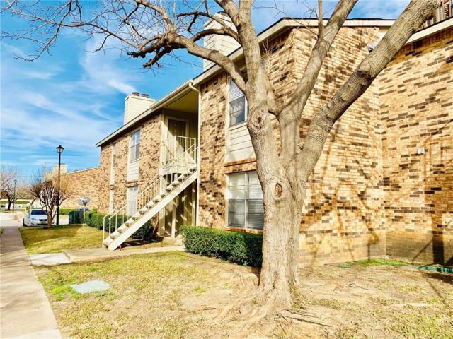2200 E Trinity Mills Road #116, Carrollton, TX 75006 (MLS #14006279) :: Team Tiller