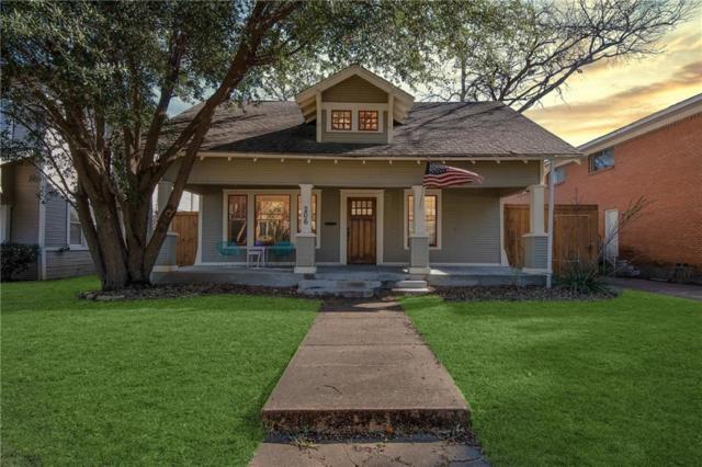 206 S Edgefield Avenue, Dallas, TX 75208 (MLS #14006456) :: RE/MAX Town & Country