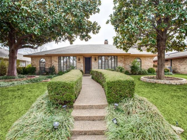 416 Fieldwood Drive, Richardson, TX 75081 (MLS #14006552) :: RE/MAX Town & Country