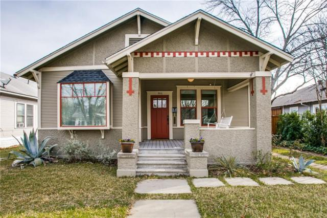 906 N Clinton Avenue, Dallas, TX 75208 (MLS #14006618) :: Van Poole Properties Group