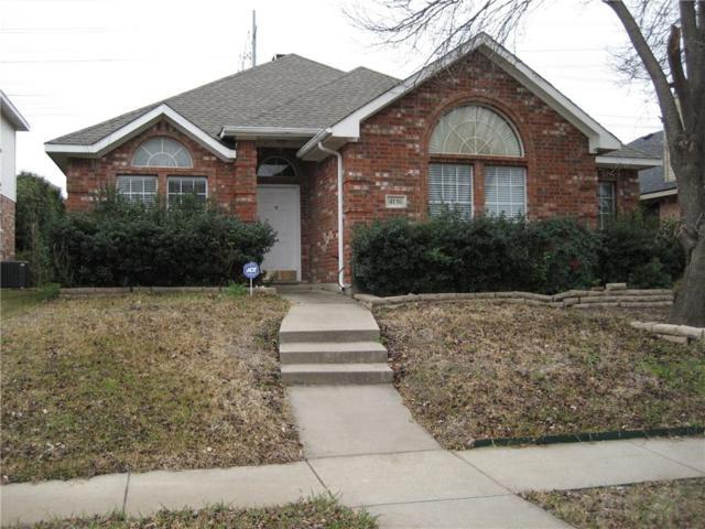 4136 Creekhollow Drive, Carrollton, TX 75010 (MLS #14006758) :: RE/MAX Town & Country