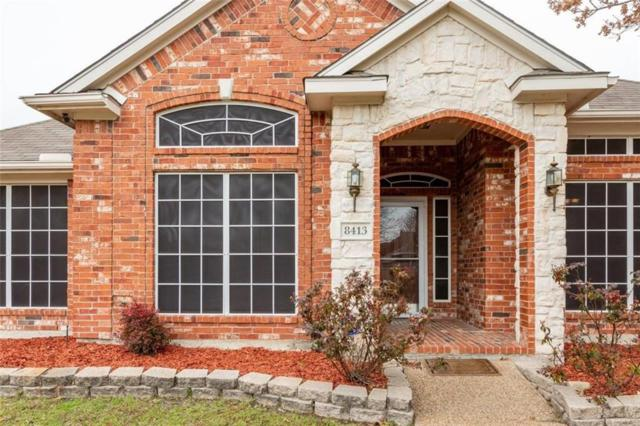 8413 Commodore Drive, Rowlett, TX 75088 (MLS #14006843) :: Vibrant Real Estate