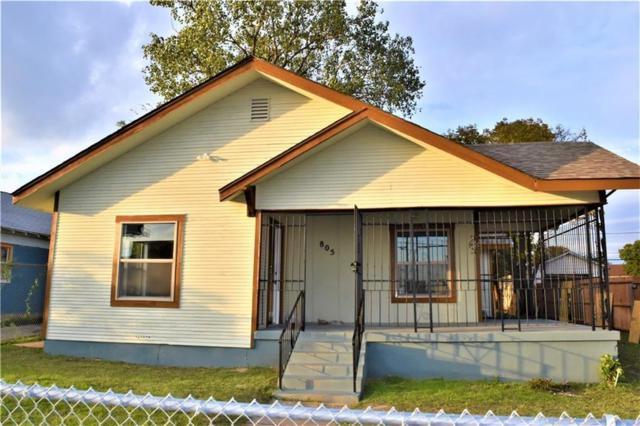 805 Baker, Fort Worth, TX 76104 (MLS #14006907) :: Frankie Arthur Real Estate