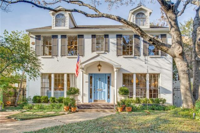 4805 Abbott Avenue, Highland Park, TX 75205 (MLS #14006995) :: Robbins Real Estate Group