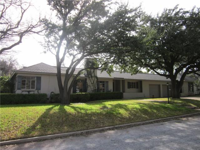 3601 Edgewood Drive, Abilene, TX 79605 (MLS #14007261) :: Team Hodnett