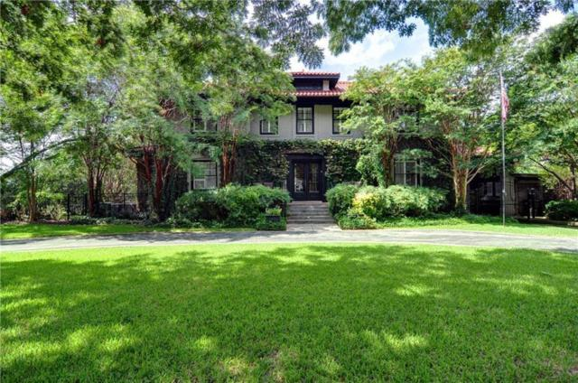 1300 Mistletoe Drive, Fort Worth, TX 76110 (MLS #14008126) :: RE/MAX Town & Country