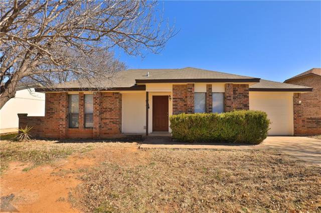 3641 Radcliff Road, Abilene, TX 79602 (MLS #14008738) :: Kimberly Davis & Associates