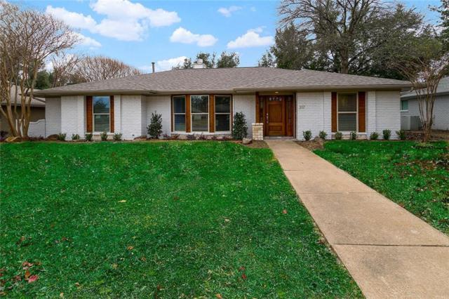 317 Woodcrest Drive, Richardson, TX 75080 (MLS #14008775) :: RE/MAX Town & Country