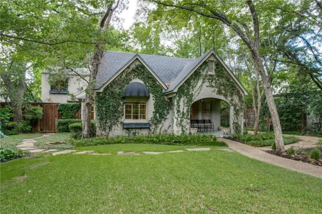 4531 Bluffview Boulevard, Dallas, TX 75209 (MLS #14008803) :: Frankie Arthur Real Estate