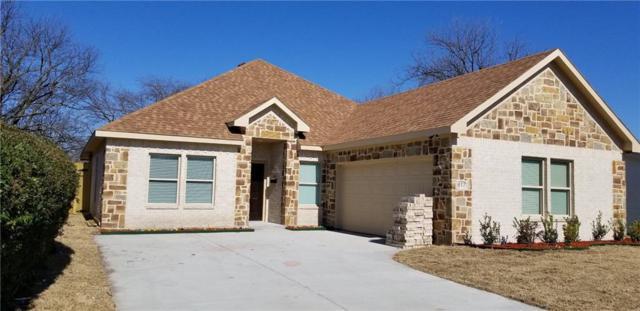 817 Lexington Drive, Lancaster, TX 75134 (MLS #14009186) :: Baldree Home Team