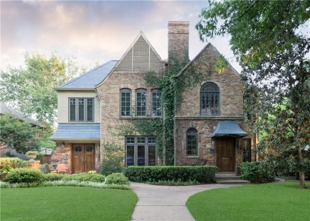 4411 Westway Avenue, Highland Park, TX 75205 (MLS #14009783) :: The Heyl Group at Keller Williams