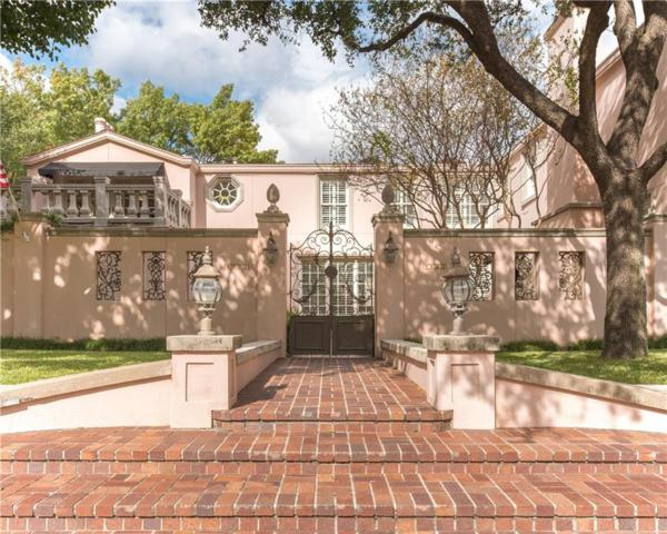 4522 Westway Avenue, Highland Park, TX 75205 (MLS #14009894) :: The Heyl Group at Keller Williams