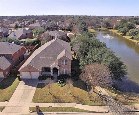 3713 Golden Aspen Drive, Flower Mound, TX 75028 (MLS #14010580) :: Team Hodnett