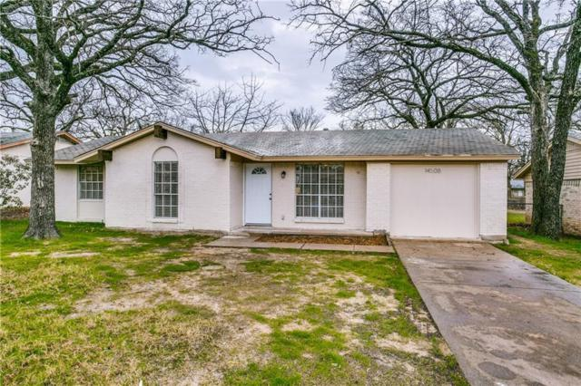 14508 Briarcrest Drive, Balch Springs, TX 75180 (MLS #14010834) :: The Heyl Group at Keller Williams
