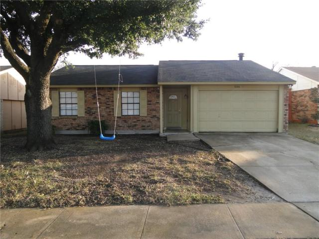 546 Hawthorne Drive, Allen, TX 75002 (MLS #14011118) :: RE/MAX Town & Country