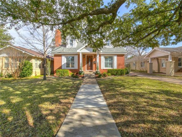 2537 Shirley Avenue, Fort Worth, TX 76109 (MLS #14011561) :: The Mitchell Group